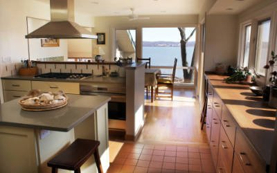 Two kitchens in Nyack