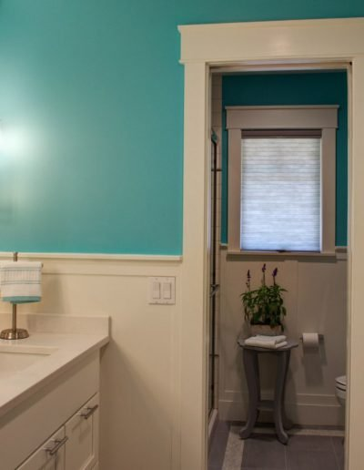 Blue Bath with Two Sinks for Girls by McManus Group