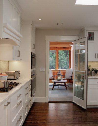 White Kitchen Design by McManus Group, Nyack